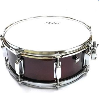 Harga Global 14 x 5.5 Snare Drum (Red)