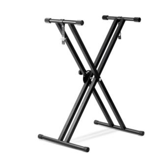 Harga Double X Keyboard Stand (Black)