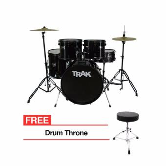 Trak JBP1601A 5pc Drumset (Black) Price Philippines