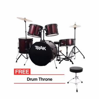 Trak JBP1601A 5pc Drumset (Red) Price Philippines