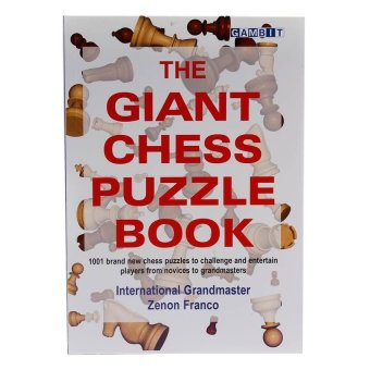 Harga The Giant Chess Puzzle Book