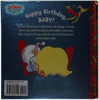 Harga Dr. Seuss'S Happy Birthday- Baby! (Dr. Seuss Nursery Collection)