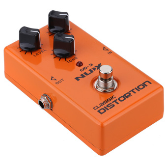 Harga NUX Classic Distortion Electric Guitar Effect Pedal True Bypass Guitar Effect Pedal (Intl)