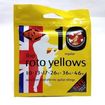 Harga Rotosound Roto Yellows - (6 String) Electric Guitar Strings