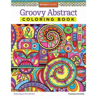 Harga Groovy Abstract Coloring Book