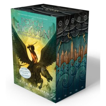 Percy Jackson and the Olympians 5 Book Paperback Boxed Set (new covers w/poster) (Percy Jackson & the Olympians) Price Philippines