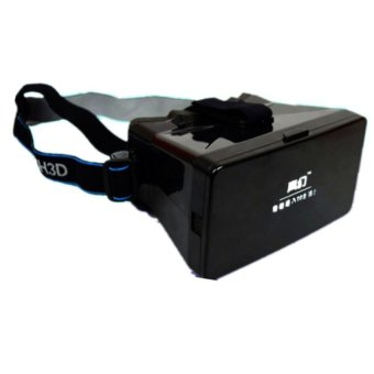 Virtual Reality 3D Private Cinema for Cellphone (Black) Price Philippines
