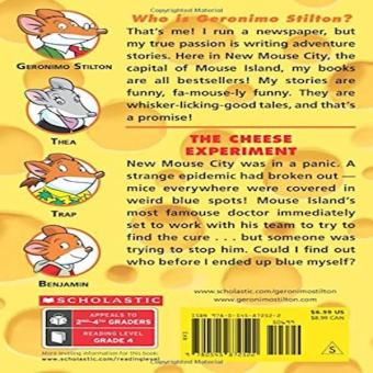 The Cheese Experiment Geronimo Stilton 63 Price Philippines