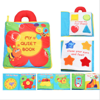 Harga Cloth Book My Quiet Book
