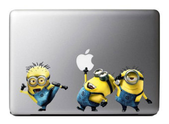 Harga niceEshop Colorful Minions Despicable Me Vinyl Decal Stickers Art Skin Protector For Apple Macbook Laptop (Multicolor)