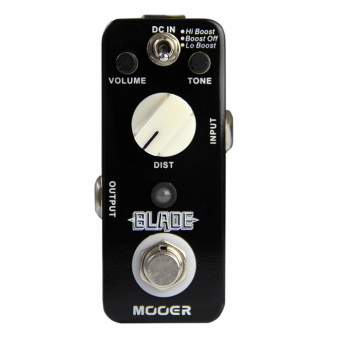 Harga Mooer Blade Pedal Electric Guitar Effect Pedal True Bypass MMD1