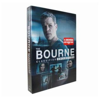 The Bourne Identity - Complete 1-4 Film Collection DVD, 5-Disc Box Set - intl Price Philippines