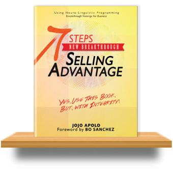 Harga Jojo Apolo 7 Steps New Breakthrough Selling Advantage, Sales Book, Using NLP (Neuro-Linguistic Programming), 1 pc