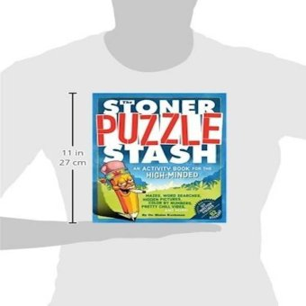 The Stoner Puzzle Stash An Activity Book For The Highminded Price Philippines
