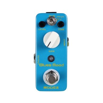 Harga Mooer Blues Mood Blues Drive Pedal Electirc Guitar Effects Pedal True Bypass