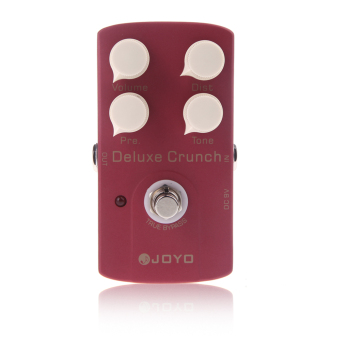 Harga JF-39 Deluxe Crunch Electric Guitar Effect Pedal Distortion Pedal True Bypass Design - Intl