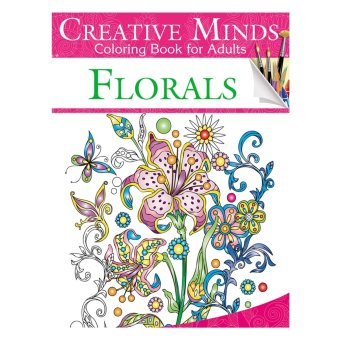 Harga Creative Minds Coloring Books For Adults 7