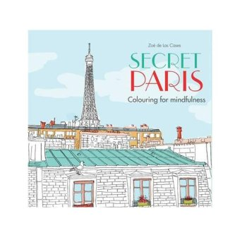 Harga Secret Paris Adult Coloring Book