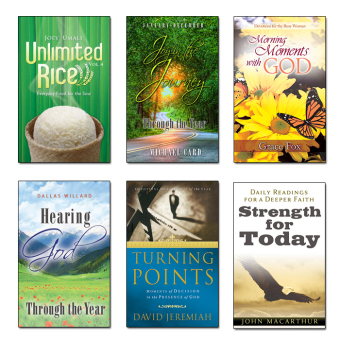 Harga 6 Daily Devotional Books