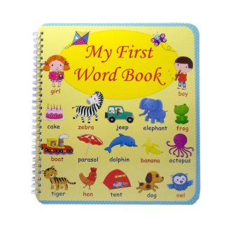 Harga My First Word Book Educational Book for Kids