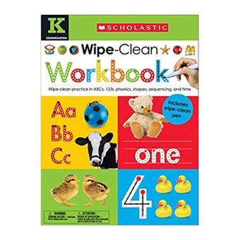Wipe Clean Workbooks: Kindergarten Scholastic Early Learners Price Philippines