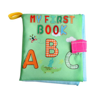 Harga Soft Cloth Book Infant Educational Toys Newborn Learning Book(Letter)