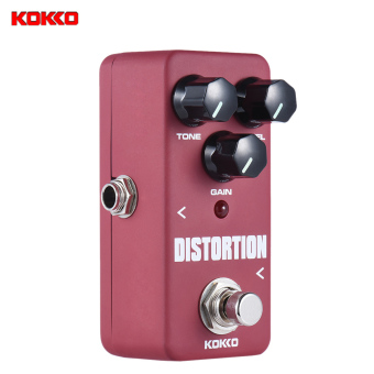 Harga KOKKO FDS2 Mini Distortion Pedal Portable Guitar Effect Pedal - intl