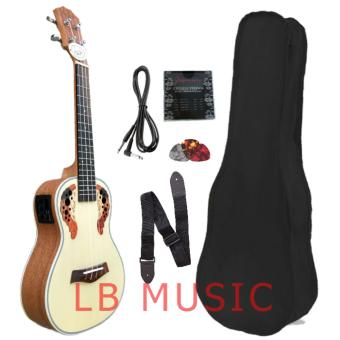 Knight Concert w/ pickup and built in tuner, padded bag Complete set Ukulele ukelele Price Philippines