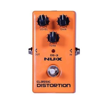 Harga NUX DS-3 Distortion Guitar Pedal True Bypass with Classic & Blues Rock Tone