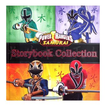 WS Power Rangers Storybook Collection (Hardback) - Samurai Price Philippines