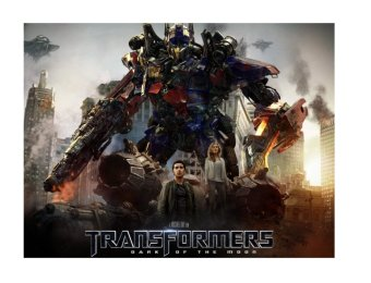 Harga Transformers: Dark of the Moon DVD (2011)