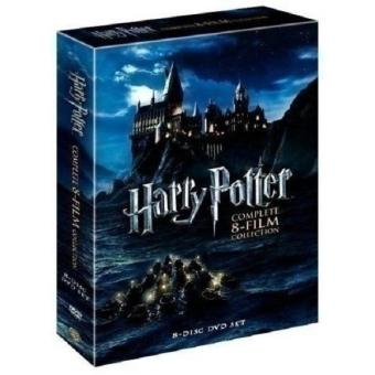 Harry Potter - Complete 8-Film Collection DVD, 2011, 8-Disc Box Set - intl Price Philippines