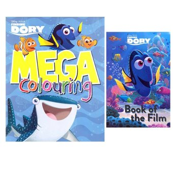 WS Disney Finding Dory Set of 2 (Mega Coloring & Book of the Film) Price Philippines