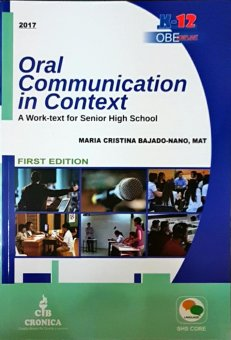 Harga Oral Communication in Context