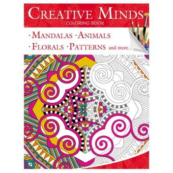 Harga Creative Minds Coloring Books for Adults 1