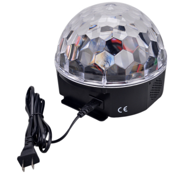 LED Mp3 DJ Club Pub Disco Party DMX512 Crystal Magic Ball Stage 12WRGB Light