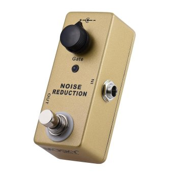 MOSKY MP-40 Noise Gate Noise Reduction Suppressor Mini Single Guitar Effect Pedal True Bypass Gold Color Outdoorfree - intl
