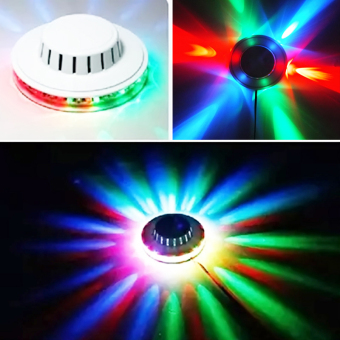 New Design LED UFO party light magic Sunflower light Stage lightscolorful disco dancing lighting for party and club - intl
