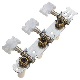 one pair Guitar Tuning Pegs Machine Tuners White Machine Head forClassic Guitar (Intl) (Intl)