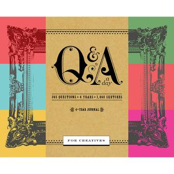 Q&A a Day for Creatives: A 4-Year Journal Price Philippines