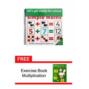 Simple Math Activity Book with Free Exercise Book Multiplication Price Philippines