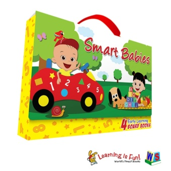 WS Smart Babies Early Learning Board Books Carry Case Price Philippines