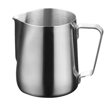 150ml Stainless Steel Coffee Latte Milk Frothing Cup Pitcher Jugfor Espresso Coffee Milk Frothers Latte Art - intl