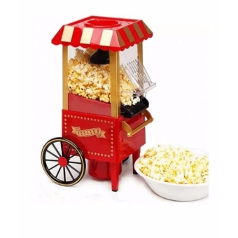 Air-Pop Type Popcorn Maker (Red)