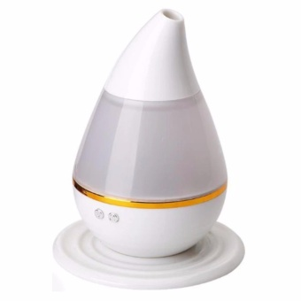 EUADMH01 Electric Ultrasound Atomization Diffuser Cool Mist Humidifier (White)