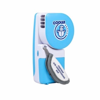 Handheld Portable Mini Air-Conditioner (Blue)