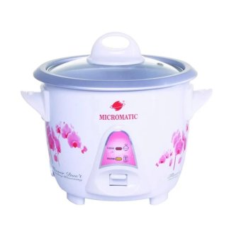 Harga Micromatic MRC-3 Rice Cooker 0.6L 3 Cups Of Rice