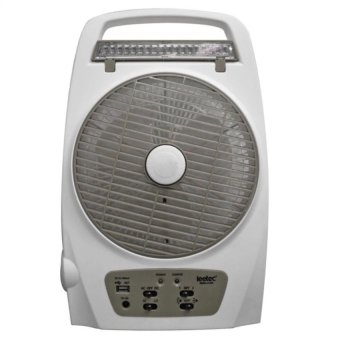 Leetec LT-620 Rechargeable Emergency Fan (White/Grey) Price Philippines