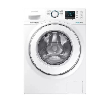 Harga Samsung WW-60H5200EW Front Load Washing Machine 6Kg.