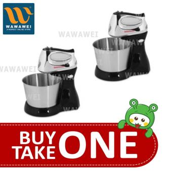 Harga Wawawei Marubishi MHM-505 5-Speed Stand Mixer (Black) BUY 1 TAKE 1
